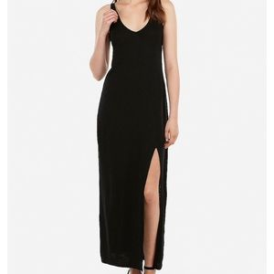 Express Strappy back front slit maxi dress NWT sz4
